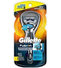 Gillette® Fusion® ProShield™ Chill™ Men's Razor With FlexBall® Handle and 2 Razor Blade Refills - 2 ct